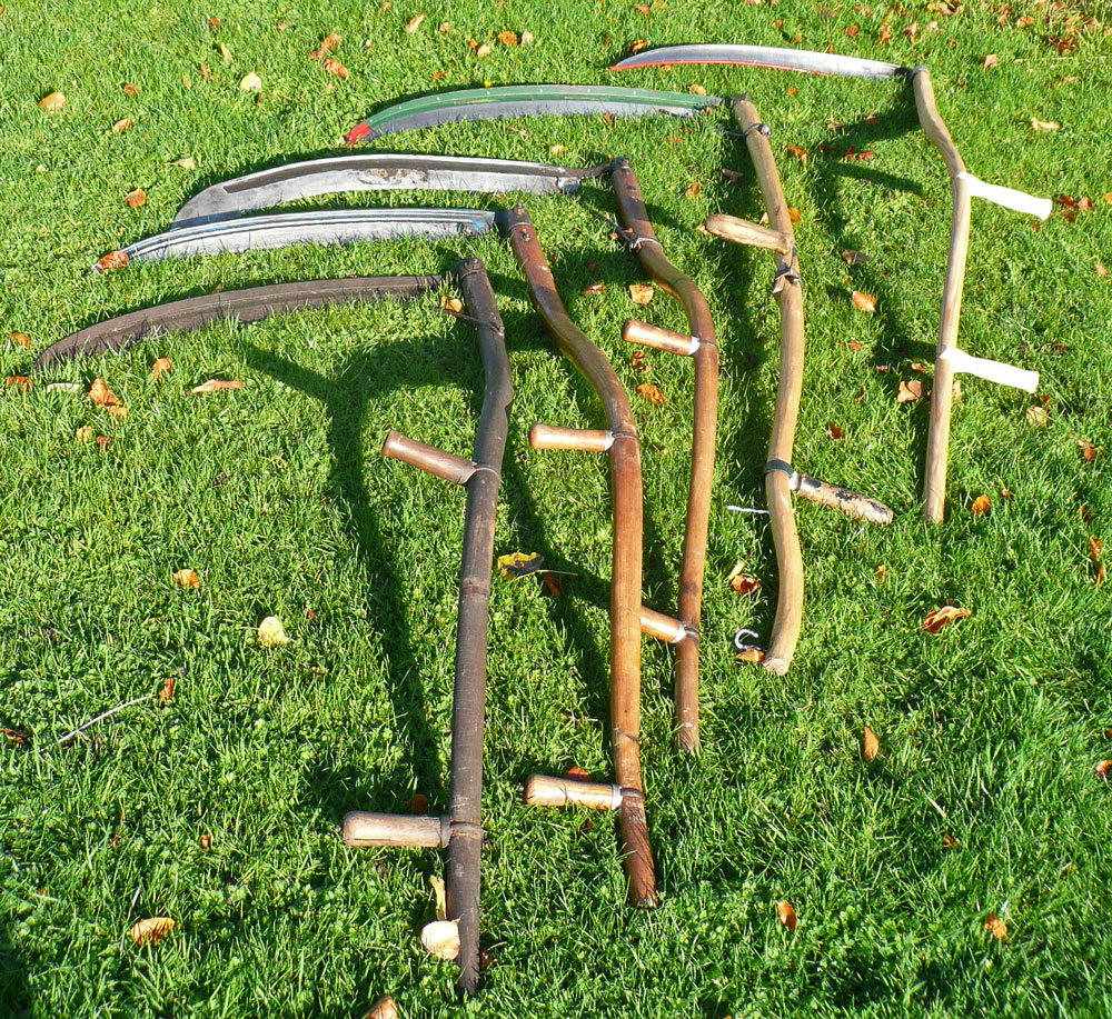English Scythes
